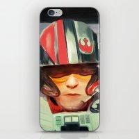 rebel iPhone & iPod Skins featuring Rebel by Rabassa