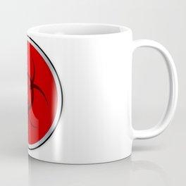 Red Bio Hazard Emergency Button Coffee Mug