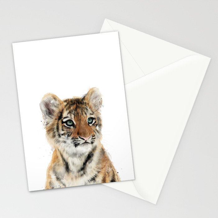 Little Tiger Stationery Cards