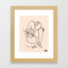 Summer lines V Framed Art Print