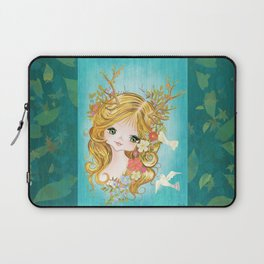 Lovely Lady Of The Woodlands Laptop Sleeve