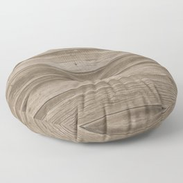 Natural Wood Floor Pillow