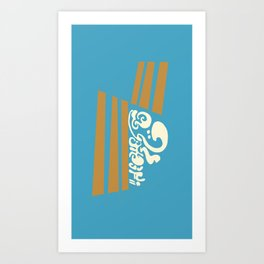 D.S. Airways Art Print