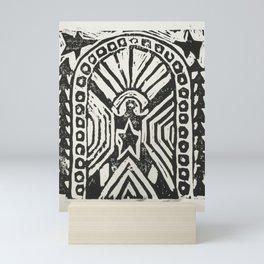 The Cosmic Doorway Mini Art Print