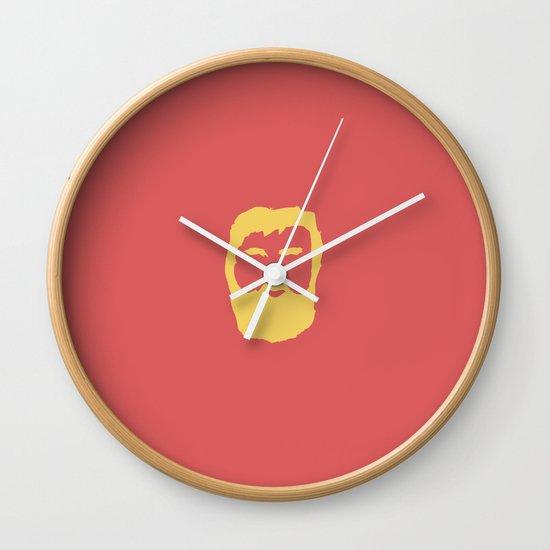 The Beard Wall Clock