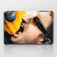 u2 iPad Cases featuring Bono from U2 by Storm Media