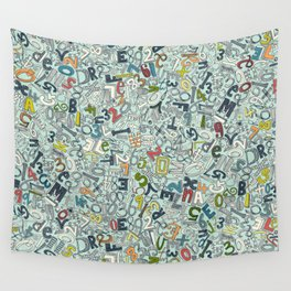 A1B2C3 ICE Wall Tapestry