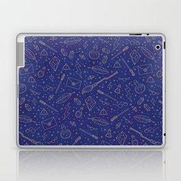 Yer a Wizard - Blue + Bronze Laptop & iPad Skin