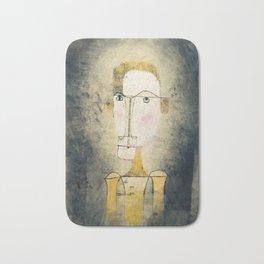 Portrait of a Yellow Man by Paul Klee, 1921 Bath Mat