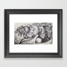 Ablaze Framed Art Print