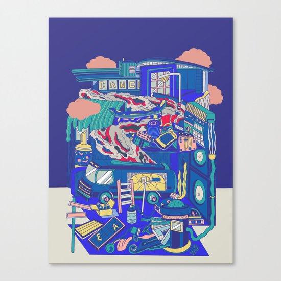 Vice City Canvas Print