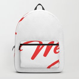 Happy 3rd Wedding Anniversary Couple Marriage Anniversary Backpack