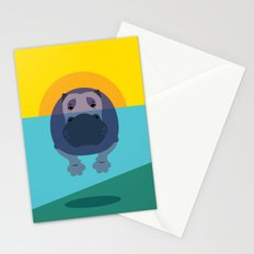 Hippo Stationery Cards