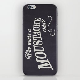 WHO WANTS A MOUSTACHE RIDE? - Super Troopers iPhone Skin