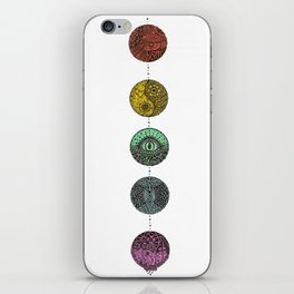 Diff Dots iPhone Skin