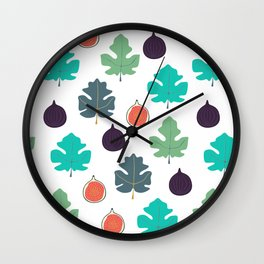 Common Fig Wall Clock