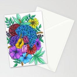 Floral Exuberance Stationery Cards