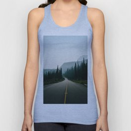 Road trip to the mountains Unisex Tank Top