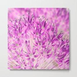 Allium Inversion Metal Print