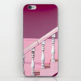 Pink Stairway iPhone Skin