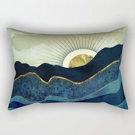 Post Eclipse Rectangular Pillow