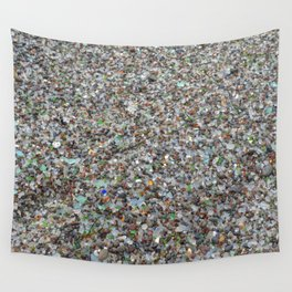 glass beach Wall Tapestry