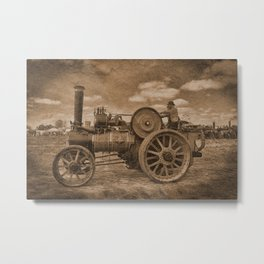 Vintage Jem General Purpose Engine Metal Print