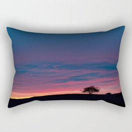 Early morning tranquility Rectangular Pillow