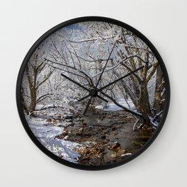 South Boulder Creek Wall Clock