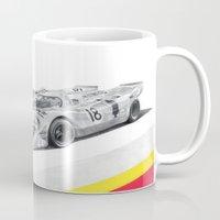 porsche Mugs featuring Porsche 917K by sesven