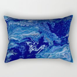 Flat Earth Rectangular Pillow