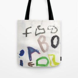 Letters for CORM Tote Bag