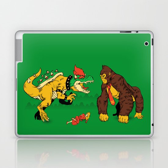 Boss vs Kong Laptop & iPad Skin