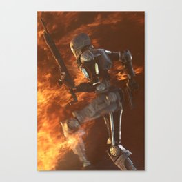 One Machine Army Canvas Print
