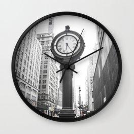 NY Streets Wall Clock