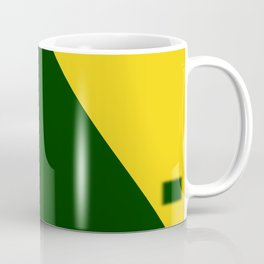 Green-Yellow Coffee Mug