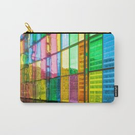 Wall of Rainbows Carry-All Pouch