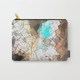 square fantasy ancient structure Carry-All Pouch