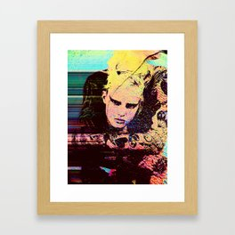 the Alasdair McLellan rmx Framed Art Print