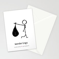 WANDERINGS by ISHISHA PROJECT Stationery Cards