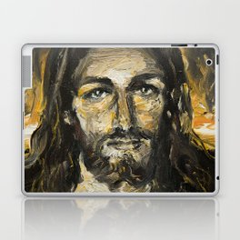 I am the light of the world. (Faustina's Vision) Laptop & iPad Skin