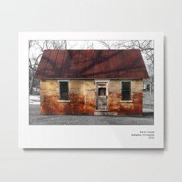 The Tin House Metal Print