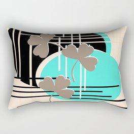 Saint Patrick, abstraction 2 Rectangular Pillow