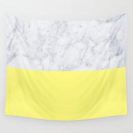 Lemon Marble Wall Tapestry