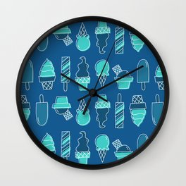 Ice cream 4 Wall Clock