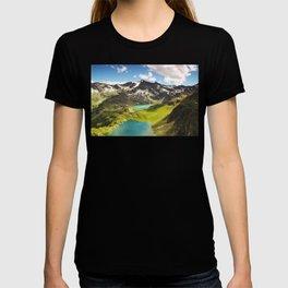 Italian Landscape Mountains and Lake T-shirt