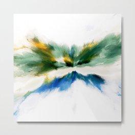 Serenity Abstract Metal Print