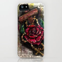 The Old Rugged Cross iPhone Case