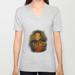 Sylvester Stallone - replaceface Unisex V-Neck