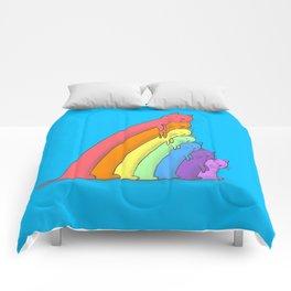 Rainbow Cats Comforters